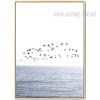 Flying Birds Over Sea Plants Design Digital Wall Art