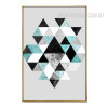 Abstract Geometric Pattern Modern Canvas Art