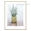Pineapple Fruit Digital Canvas Print