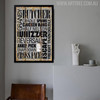 Butcher Granby Sprawl Cradle Chicken Wing Typography Art Digital Print