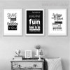 Make it Fun Quotes Wall Decor