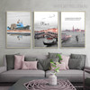 Find Myself Cityscape Picture Quotes Painting Print for Living Room Decor