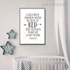 Little Boys Quotes Inspirational Scandinavian Nordic Painting Canvas Print for Kids Room Decor