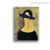 European Girl Abstract Figure Vintage Wall Decor