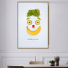 Smiley Face Abstract Creative Painting Print for Kitchen Wall Assortment