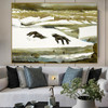 Breakup Famous Artists Still Life Landscape Scandinavian Painting Print for Lounge Room Decoration