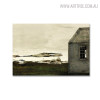 Sea Level Famous Artists Still Life Landscape Scandinavian Picture Print