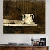 Christina's Teapot Famous Artists Still Life Landscape Scandinavian Painting Print for Study Room Wall Ornament