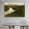 Wessaweskeag Famous Artists Still Life Landscape Scandinavian Painting Print for Dining Room Wall Decor