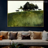 Shade Trees Famous Artists Animal Still Life Landscape Painting Print for Living Room Wall Garnish