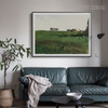 New Grass Famous Artists Still Life Landscape Scandinavian Painting Canvas Print for Living Room Wall Decor