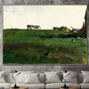 New Grass Famous Artists Still Life Landscape Scandinavian Painting Canvas Print for Living Room Wall Ornament