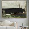 Main Gaff Famous Artists Still Life Landscape Scandinavian Painting Print for Living Room Wall Assortment