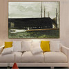 Main Gaff Famous Artists Still Life Landscape Scandinavian Painting Print for Living Room Wall Ornament