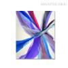 Blue Abstract Modern Artwork