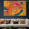 Colorific Art Abstract Oil Painting for Room Wall Getup