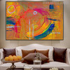 Colorific Art Abstract Oil Painting for Home Wall Ornament