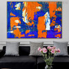 Wonderful Shades Abstract Acrylic Painting for Home Wall Ornament