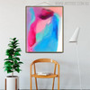 Colorific Texture Abstract Canvas Portraiture for Home Wall Drape