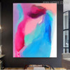 Colorific Texture Abstract Canvas Portraiture for Living Room Wall Finery