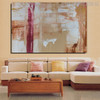 Real Texture Abstract Acrylic Portrayal for Living Room Wall Outfit