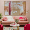 Real Texture Abstract Acrylic Portrayal for Home Wall Getup