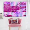 Erosion Texture Modern Handmade Oil Resemblance for Room Wall Getup