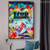 Free Humanity Abstract Acrylic Portraiture for Room Wall Flourish