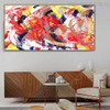 Calico Assortment Abstract Modern Canvas Artwork for Room Wall Assortment
