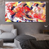Calico Assortment Abstract Modern Canvas Artwork for Living Room Wall Decor