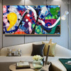Deeply Color Abstract Modern Texture Handmade Oil Resemblance for Interior Wall Garniture