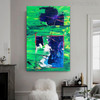 Stria Abstract Modern Handpainted Canvas for Living Room Wall Outfit