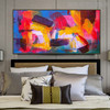 Fuse Abstract Modern Texture Framed Acrylic Draught for Bedroom Wall Equipment