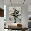 Dancer Figure Modern Canvas Artwork for Wall Outfit