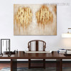 Marks Abstract Modern Acrylic Painting for Kitchen Wall Getup