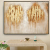 Marks Abstract Modern Acrylic Painting for Dining Room Wall Decor