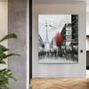 Eiffel Tower Scene Texture Handmade Oil Cityscape Likeness for Modern Interior Design