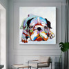 Boxer Dog Animal Modern Canvas Artwork for Lounge Room Wall Outfit