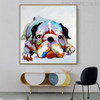 Boxer Dog Animal Modern Canvas Artwork for Wall Hanging Decor