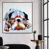 Boxer Dog Animal Modern Canvas Artwork for Wall Getup