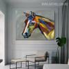 Studhorse Modern Heavy Texture Knife Artwork for Animal Head Wall Decor