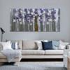 Chromatic Flowers Floral Modern Heavy Texture Handmade Oil Effigy for Living Room Wall Decor