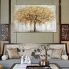 Abstract Arbor Modern Heavy Texture Handmade Canvas Art for Living Room Wall Getup