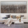 Dark Shade Abstract Modern Panoramic Acrylic Vignette for Room Wall Equipment