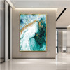 Gilding Nature Landscape Handmade Oil Vignette on Canvas for Home Wall Getup