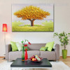 Big Tree Abstract Modern Heavy Texture Oil Effigy on Canvas for Lounge Room Wall Outfit