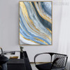 Calico Artwork Abstract Modern Bold Texture Acrylic Painting for Home Wall Finery