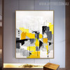 Hued Art Abstract Modern Heavy Texture Knife Artwork for Room Wall Decor