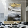 Firmament Abstract Modern Nature Handmade Canvas Portraiture for Wall Outfit