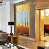 Money Trees Heavy Texture Handmade Oil Likeness on Canvas for Wall Molding